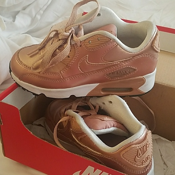 Nike Shoes Rose Gold Air Max 90 Se Kids Poshmark